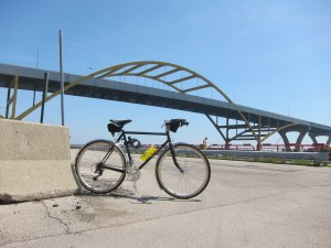 Polyvalent under the Hoan Bridge